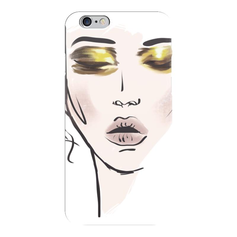 Чехол для iPhone 6 глянцевый Printio Gold japan 50 шт на лице нефть управления поглощение кино ткани макияж промокашки