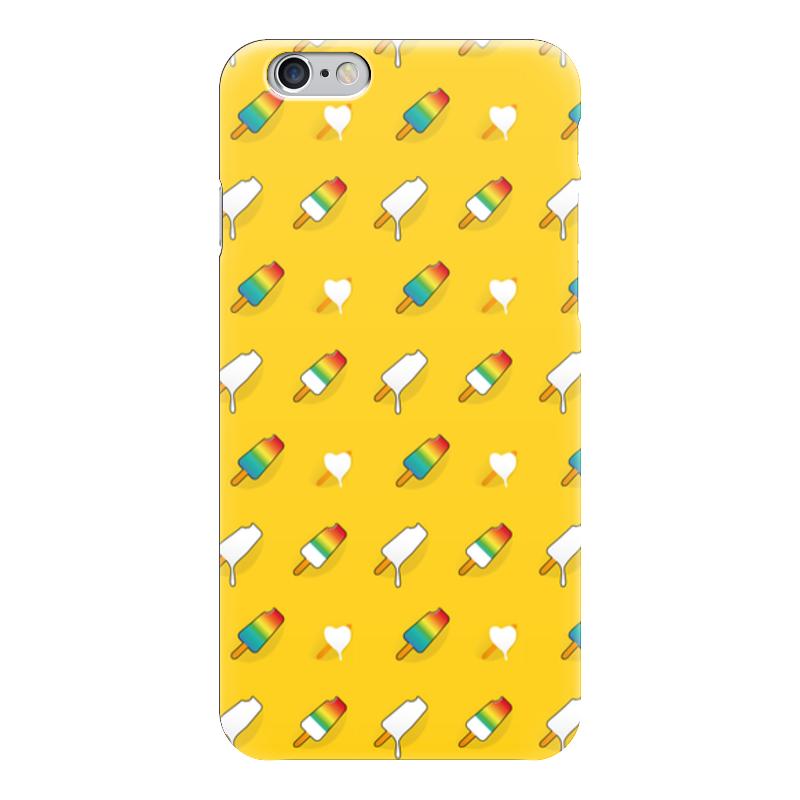Чехол для iPhone 6 глянцевый Printio Поп арт дизайн. мороженое паттерн