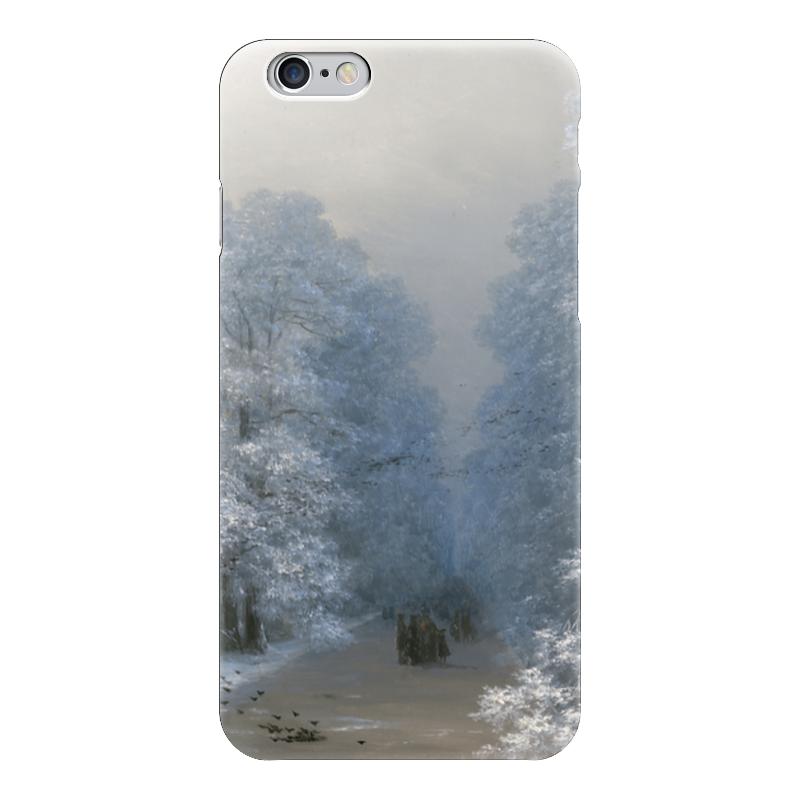 Чехол для iPhone 6 глянцевый Printio Зимний пейзаж (айвазовский) настенные часы русский меценат рм 775