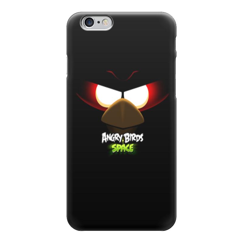 Чехол для iPhone 6 глянцевый Printio Space (angry birds) чехол для iphone 6 глянцевый printio birds