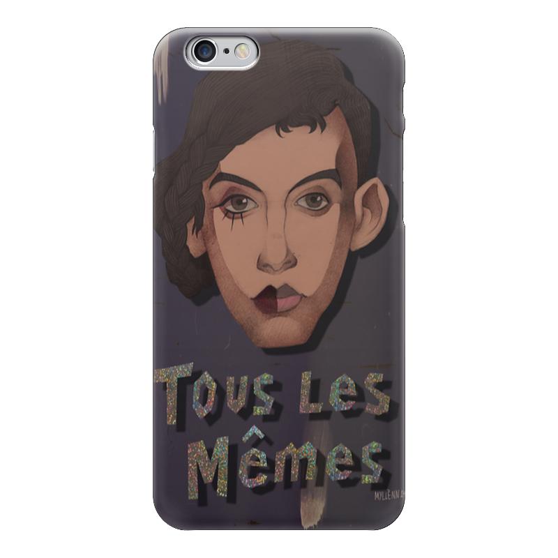 Чехол для iPhone 6 глянцевый Printio Tous les memes сумка tous tous to011bwyve53