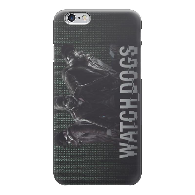 Чехол для iPhone 6 глянцевый Printio Watch dogs (сторожевые псы) watch dogs ключ стим