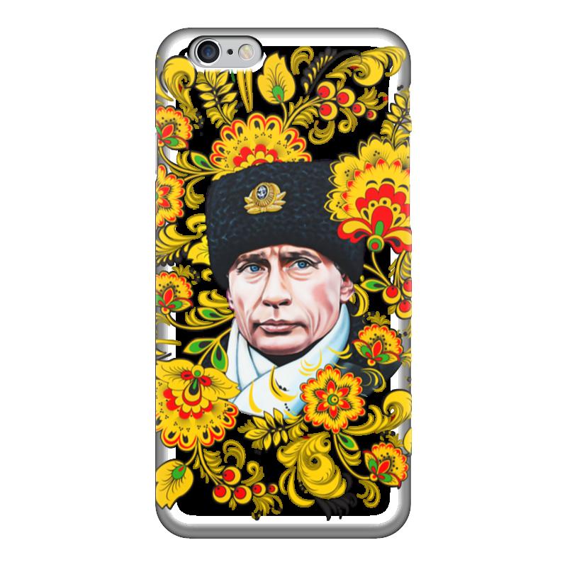 Чехол для iPhone 6 глянцевый Printio Путин – хохлома обувь