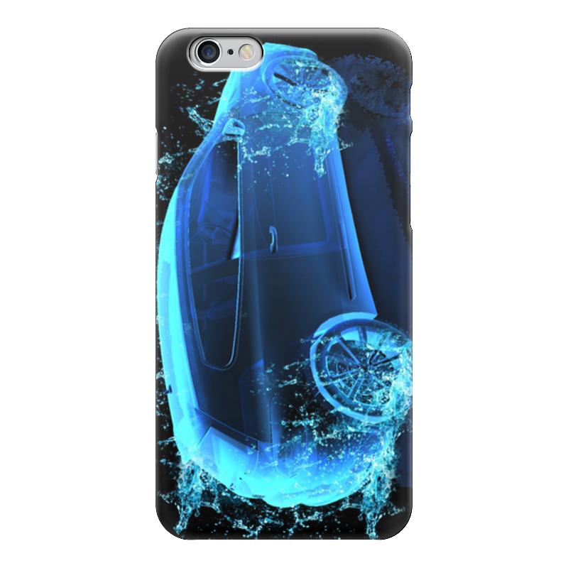 Чехол для iPhone 6 глянцевый Printio Неоновое авто аквагель для авто в таобао