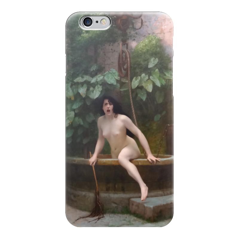 Чехол для iPhone 6 глянцевый Printio Истина, выбирающаяся из колодца (жан-леон жером) обложка для паспорта printio жан рено леон