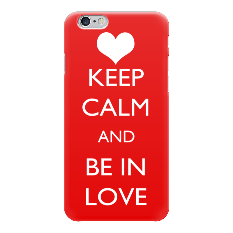 Чехол для iPhone 6 глянцевый Printio Happy valentine's day чехол для iphone 6 глянцевый printio how to be happy