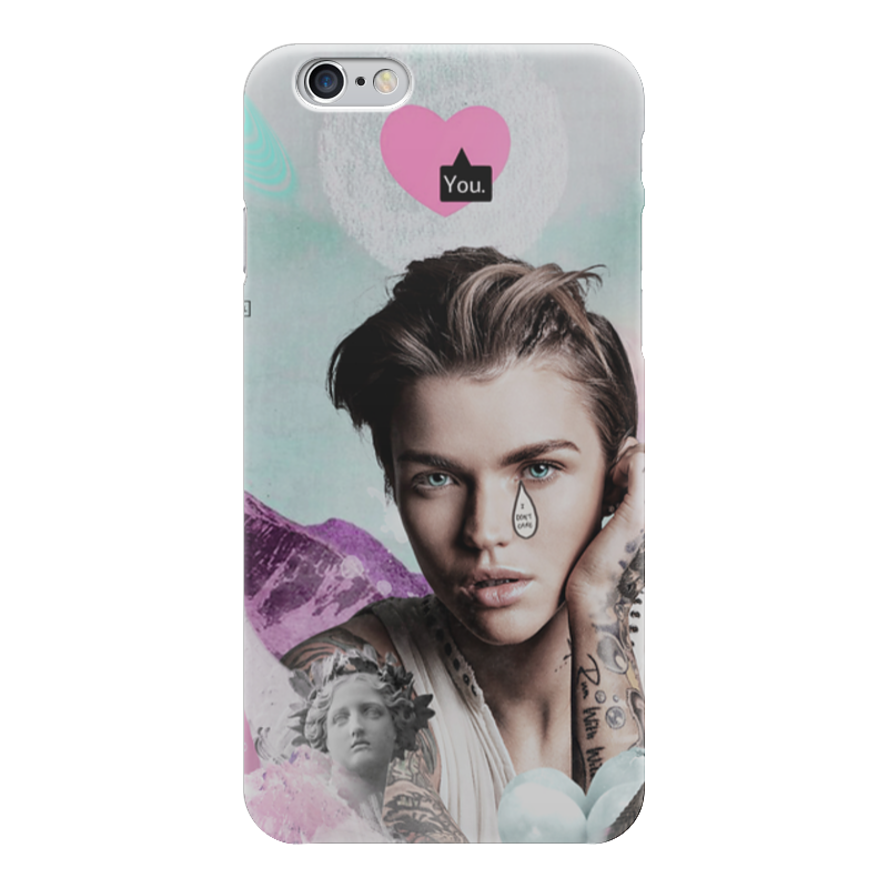 Чехол для iPhone 6 глянцевый Printio Sad ruby rose iphone 6 чехол для iphone 6 глянцевый printio геркулес и омфала