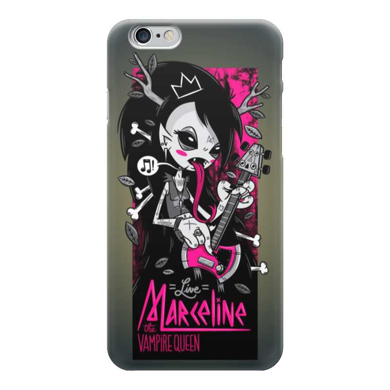 Чехол для iPhone 6 глянцевый Printio Vampire rocker girl чехол для iphone 6 глянцевый printio red girl