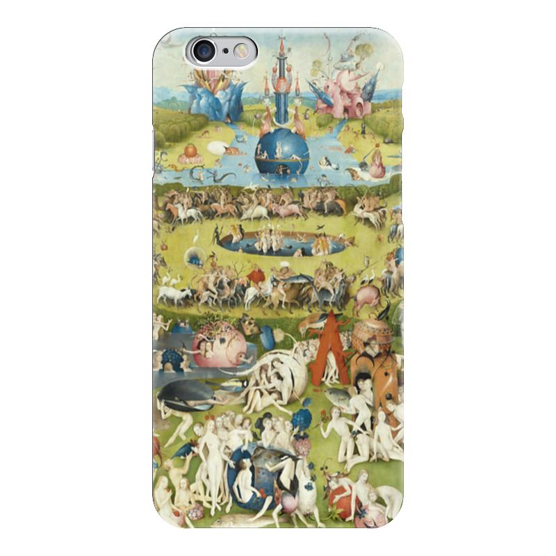 Чехол для iPhone 6 глянцевый Printio Сад земных наслаждений юбка в складку printio сад земных наслаждений
