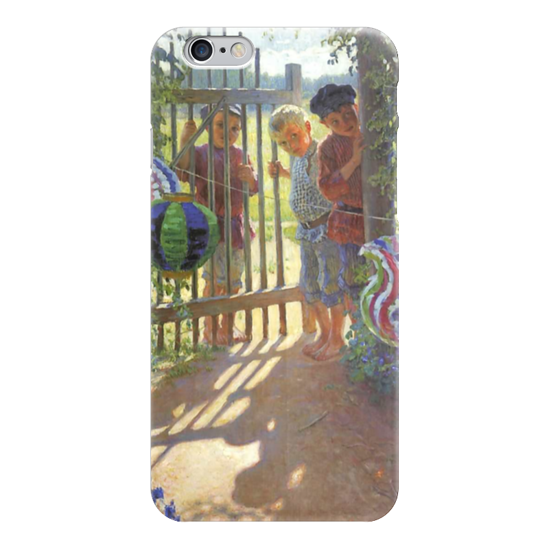 Чехол для iPhone 6 глянцевый Printio Визитеры