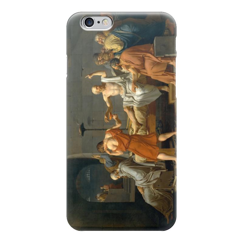 Чехол для iPhone 6 глянцевый Printio Смерть сократа mort