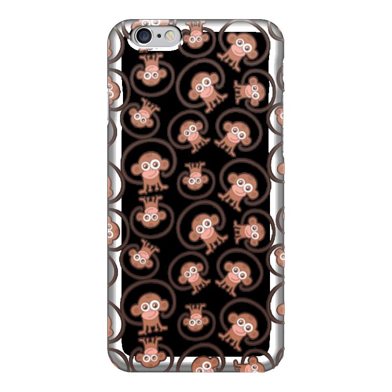 Чехол для iPhone 6 глянцевый Printio Обезьянка чехол для iphone 6 глянцевый printio новый год