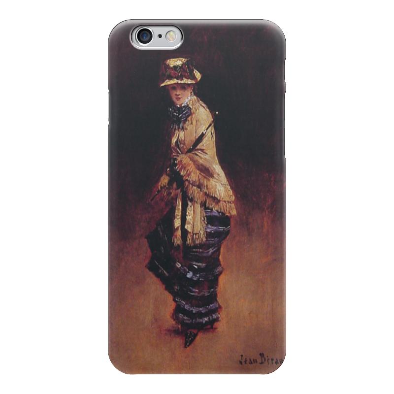 Чехол для iPhone 6 глянцевый Printio Молодая парижанка (жан беро) чехол для iphone 6 глянцевый printio молодая женщина в соломенной шляпе