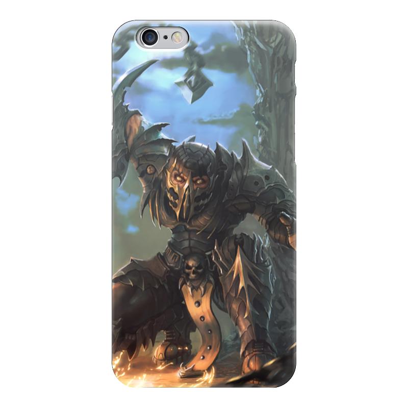 Чехол для iPhone 6 глянцевый Printio Скорпион (scorpion)