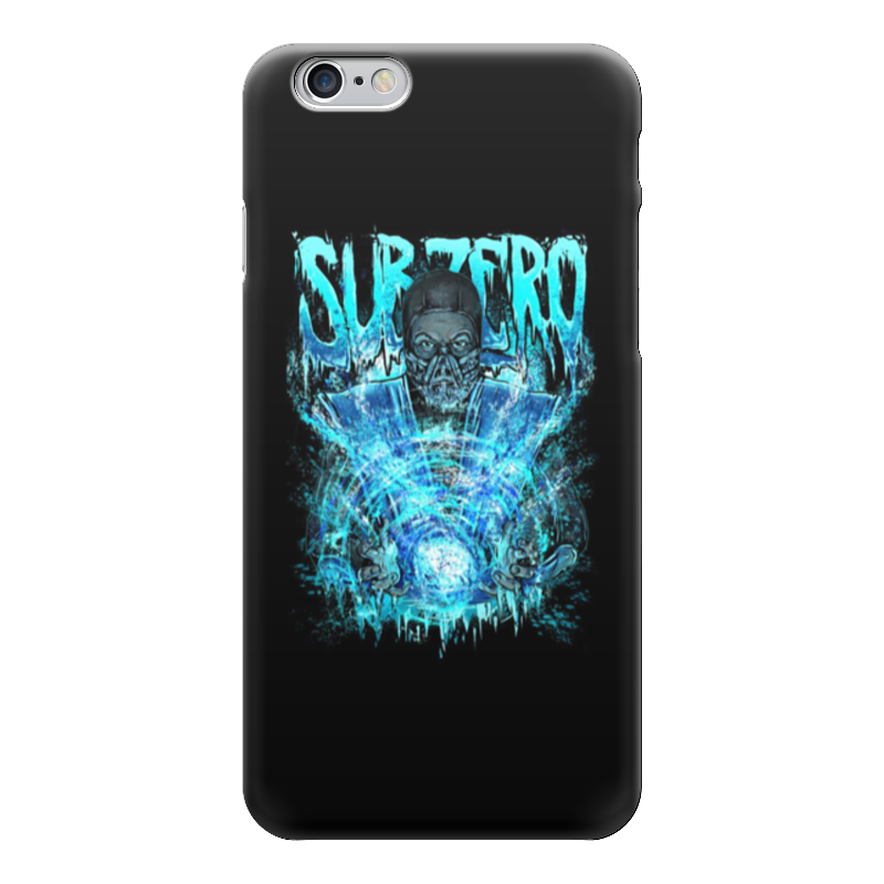 Чехол для iPhone 6 глянцевый Printio Sub-zero (mortal kombat)
