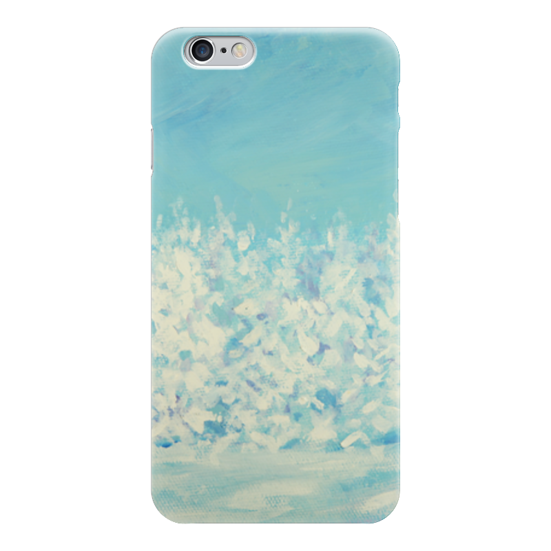 Чехол для iPhone 6 глянцевый Printio Зимний лес чехол для iphone 5 глянцевый с полной запечаткой printio зимний