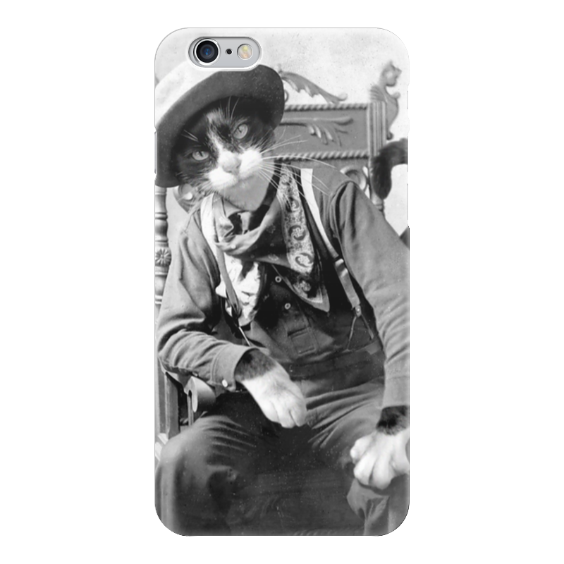 Чехол для iPhone 6 глянцевый Printio Ретро кот чехол для iphone 6 глянцевый printio кот бу