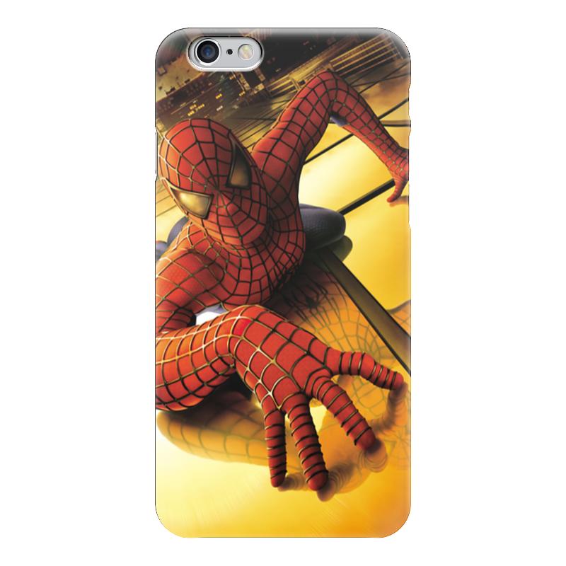 Чехол для iPhone 6 глянцевый Printio Человек - паук чехол для iphone 6 глянцевый printio сад на улице корто сад на монмартре ренуар
