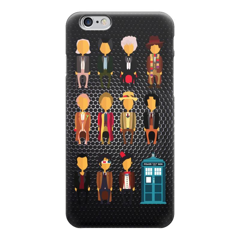 Чехол для iPhone 6 глянцевый Printio Доктор кто (doctor who) чехол для iphone 7 глянцевый printio doctor who x abbey road