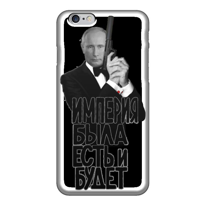 Чехол для iPhone 6 глянцевый Printio Владимир путин какой iphone лучше для россии