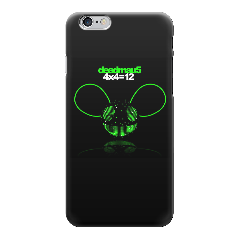 Чехол для iPhone 6 глянцевый Printio Deadmau5 printio чехол для iphone 5