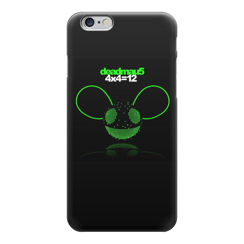 Чехол для iPhone 6 глянцевый Printio Deadmau5 чехол для iphone 5 глянцевый с полной запечаткой printio панк