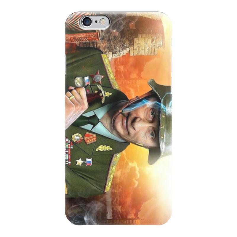 Чехол для iPhone 6 глянцевый Printio Путин чехол для iphone 5 глянцевый с полной запечаткой printio путин суперчеловек