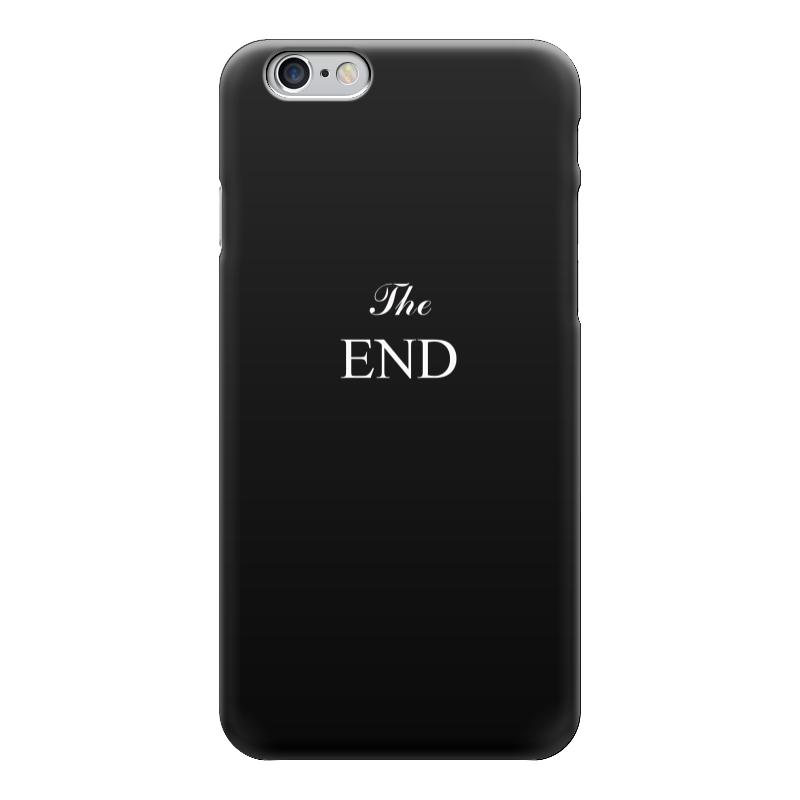 Чехол для iPhone 6 глянцевый Printio The end чехол для iphone 5 глянцевый с полной запечаткой printio be the leslie knope