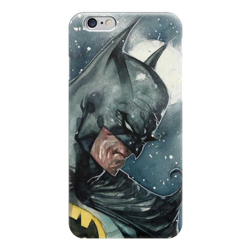 Чехол для iPhone 6 глянцевый Printio Бэтмен чехол для iphone 6 глянцевый printio оргия