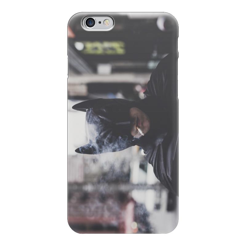 Чехол для iPhone 6 глянцевый Printio Smoke batman купить чехол для айфона 4 с камнями