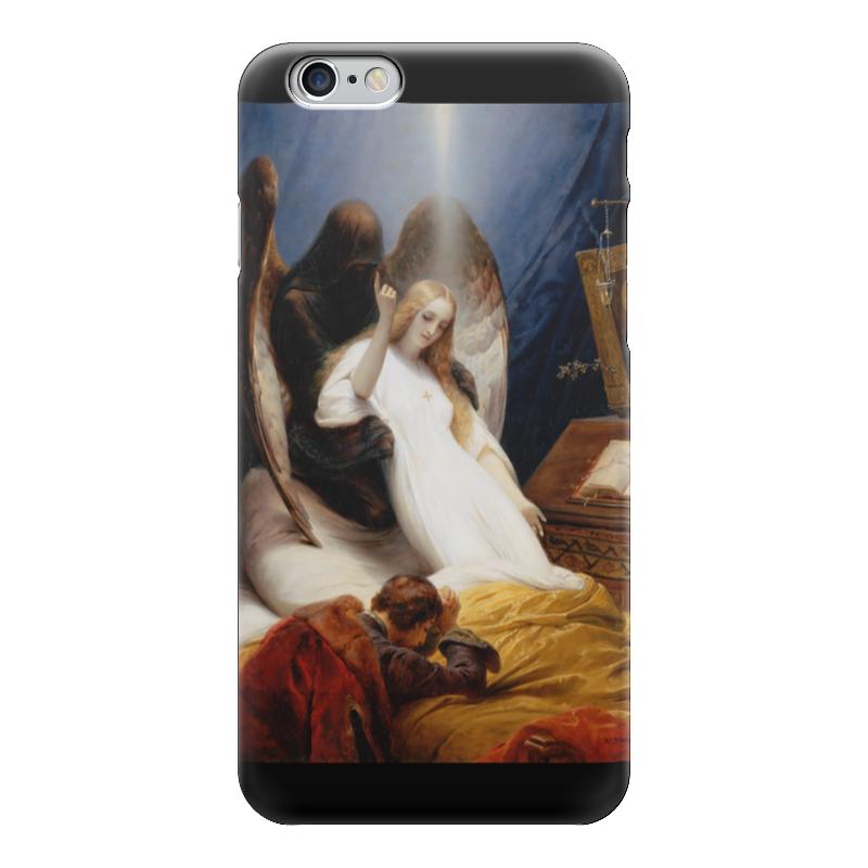 Чехол для iPhone 6 глянцевый Printio Ангел смерти (орас верне)