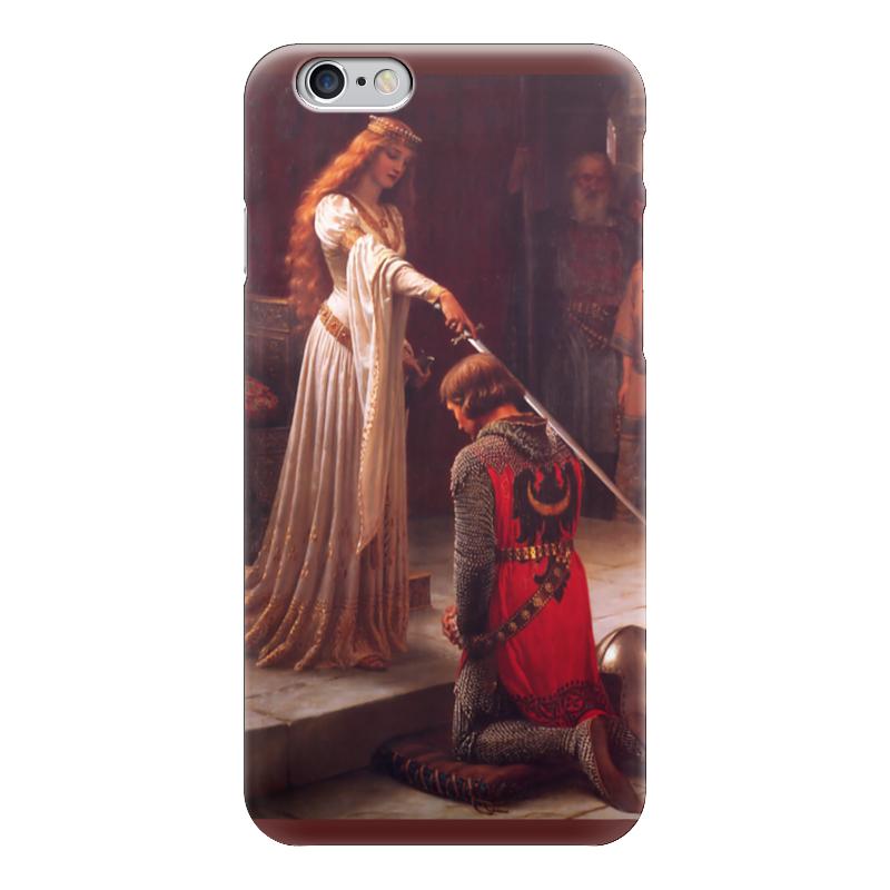Чехол для iPhone 6 глянцевый Printio Картина акколада (картина лейтона) кеды converse m9613