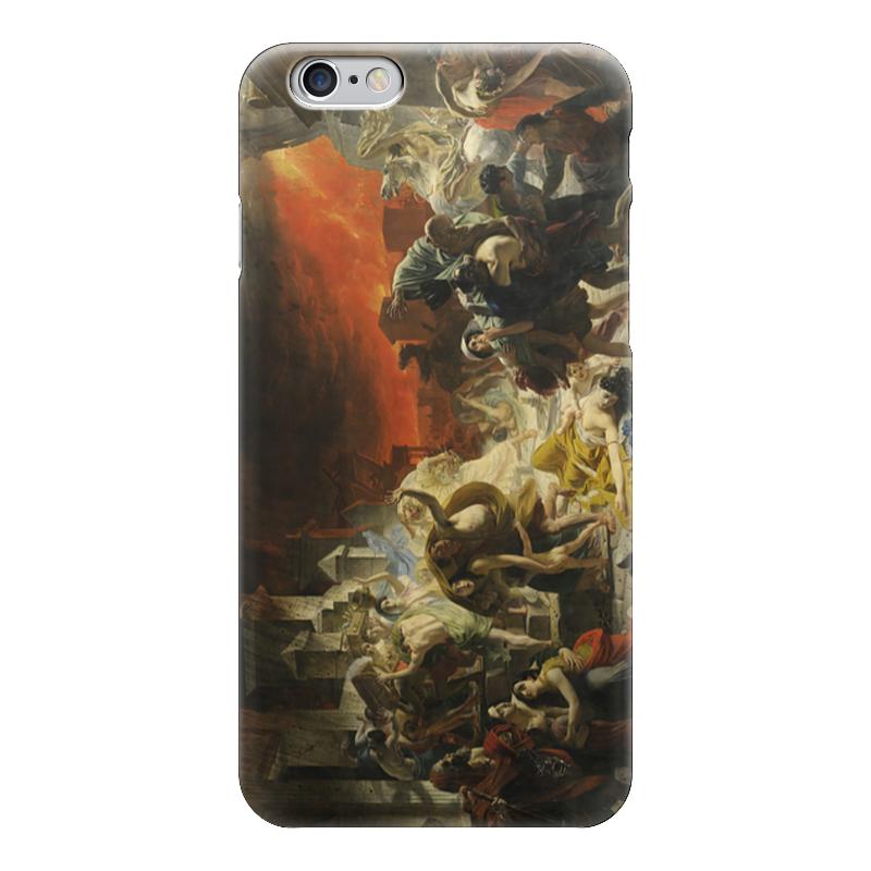 Чехол для iPhone 6 глянцевый Printio Последний день помпеи (картина брюллова) последний подарок