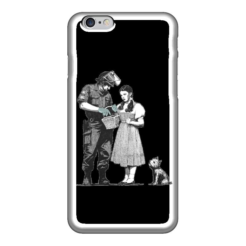 Чехол для iPhone 6 глянцевый Printio Девочка и солдат сахаров в солдат