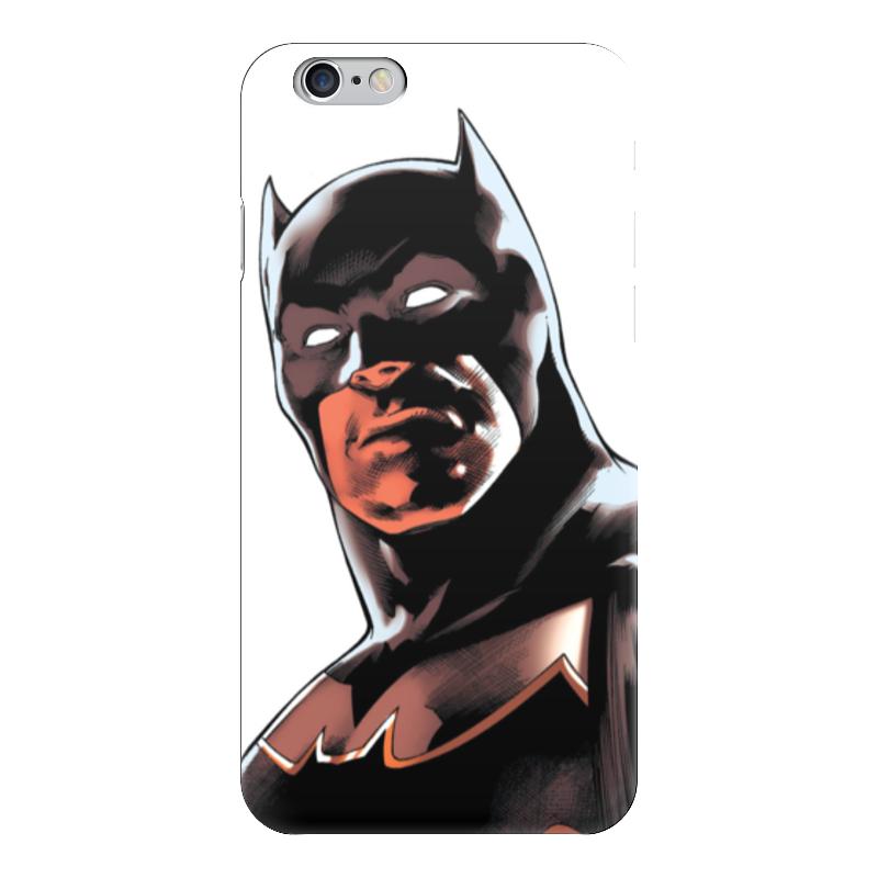 Чехол для iPhone 6 глянцевый Printio Бэтмен чехол для iphone 4 глянцевый с полной запечаткой printio бэтмен