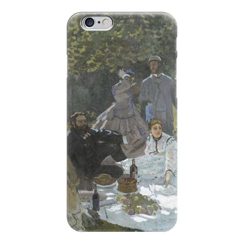 Чехол для iPhone 6 глянцевый Printio Завтрак на траве (клод моне) 1866