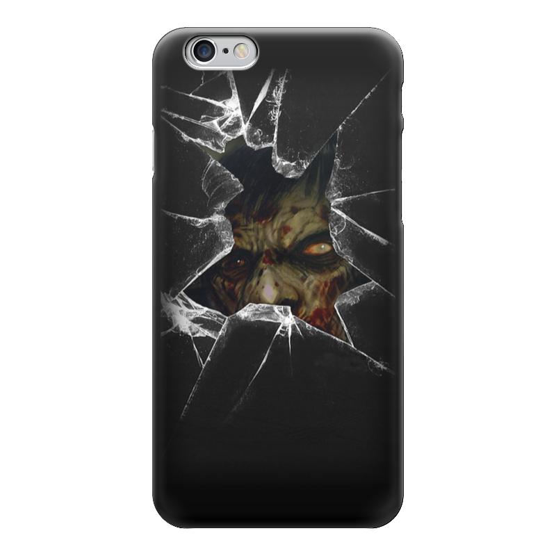 Чехол для iPhone 6 глянцевый Printio Zombie art чехол для iphone 7 глянцевый printio zombie art