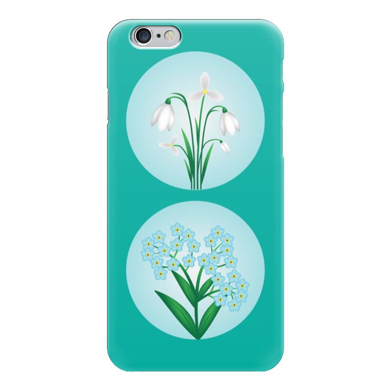 Чехол для iPhone 6 глянцевый Printio Весенние цветы набор для детского творчества ранок декупаж весенние цветы