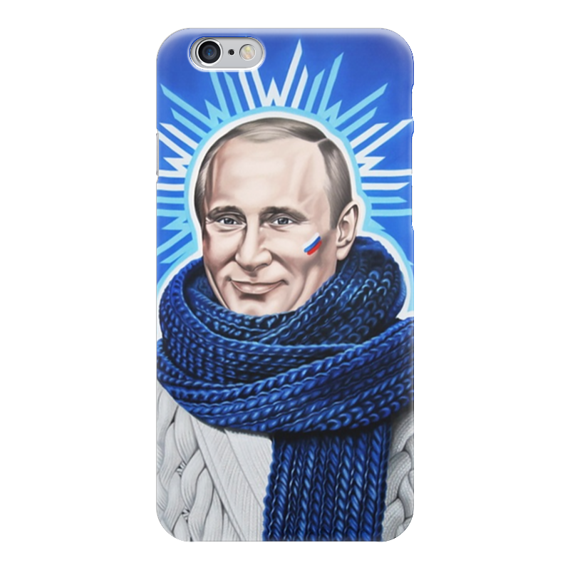 Чехол для iPhone 6 глянцевый Printio Путин чехол для iphone 6 глянцевый printio летний сад