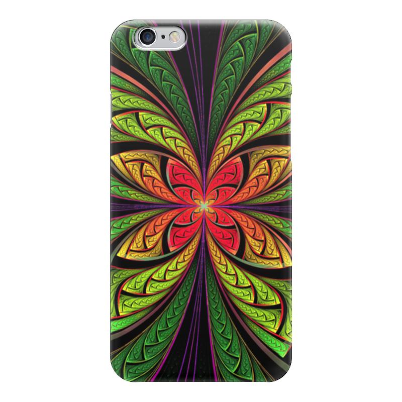 Чехол для iPhone 6 глянцевый Printio Разноцветный цветок