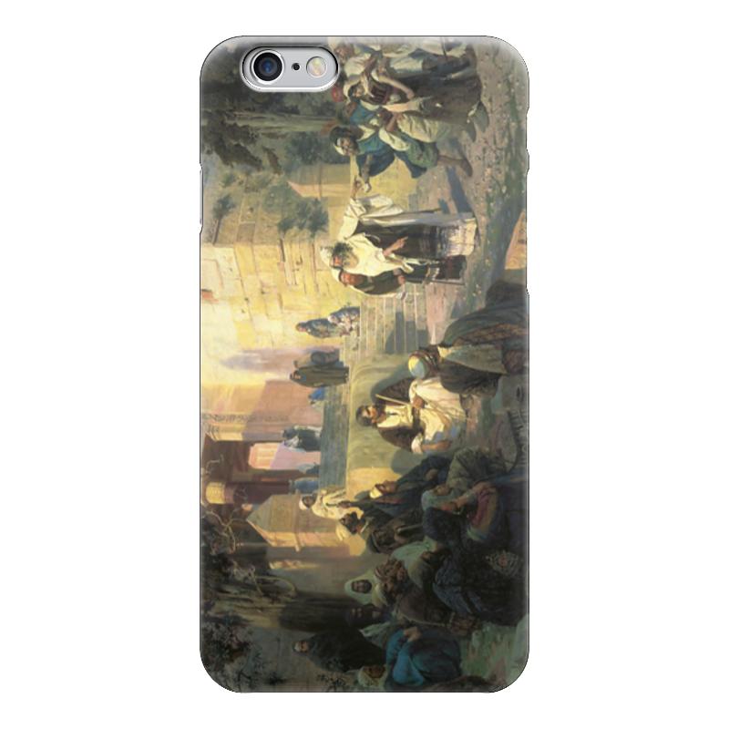 Чехол для iPhone 6 глянцевый Printio Христос и грешница (кто без греха?) не без греха