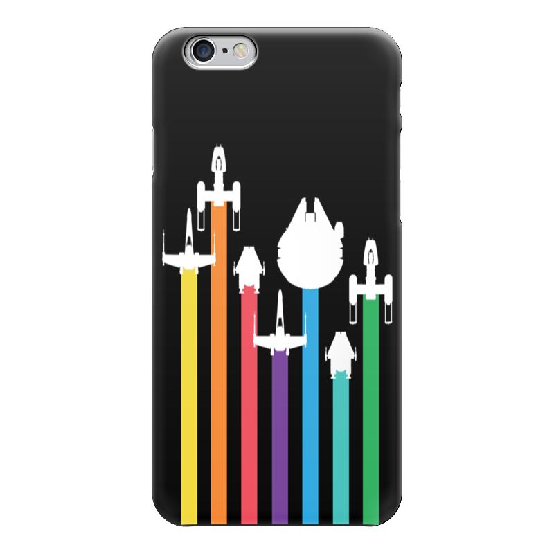 Чехол для iPhone 6 глянцевый Printio star wars / звездные войны star wars жидкое мыло star wars 300 мл