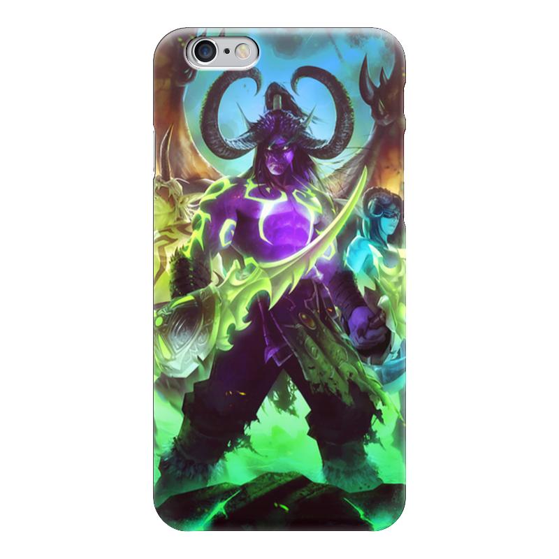 Чехол для iPhone 6 глянцевый Printio Warcraft: illidan чехол для iphone 6 глянцевый printio world of warcraft