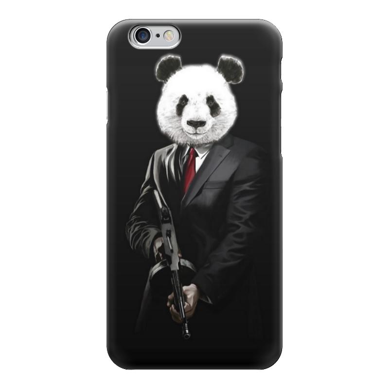 Чехол для iPhone 6 глянцевый Printio Panda mob!!! mob rule
