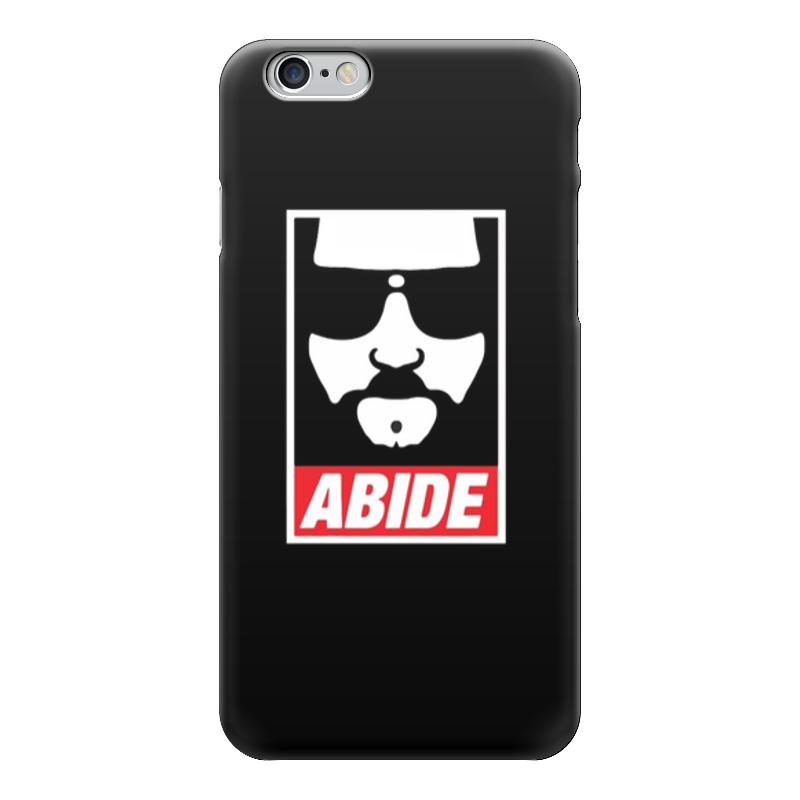 Чехол для iPhone 6 глянцевый Printio Abide чехол для iphone 5 глянцевый с полной запечаткой printio хлоя морец