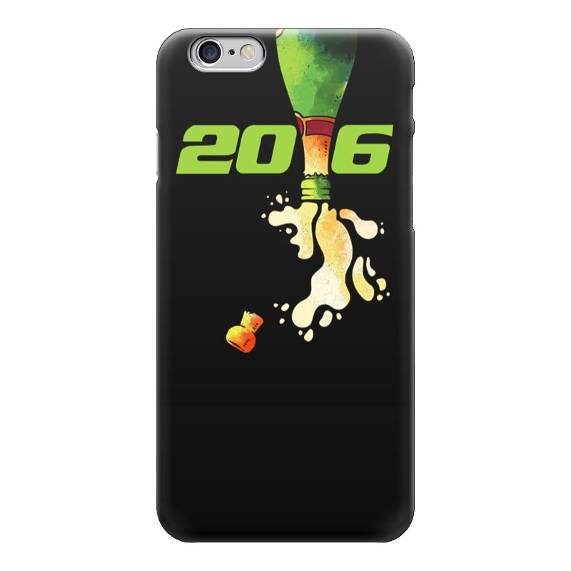 Чехол для iPhone 6 глянцевый Printio Новый год! конева л празднуем старый новый год