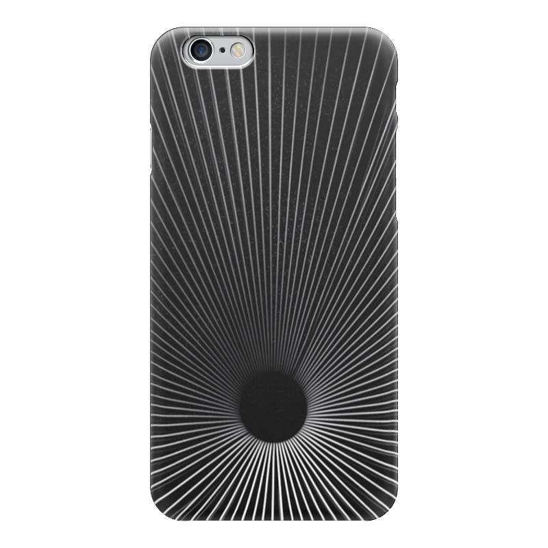 Чехол для iPhone 6 глянцевый Printio Черная дыра какой iphone лучше для россии