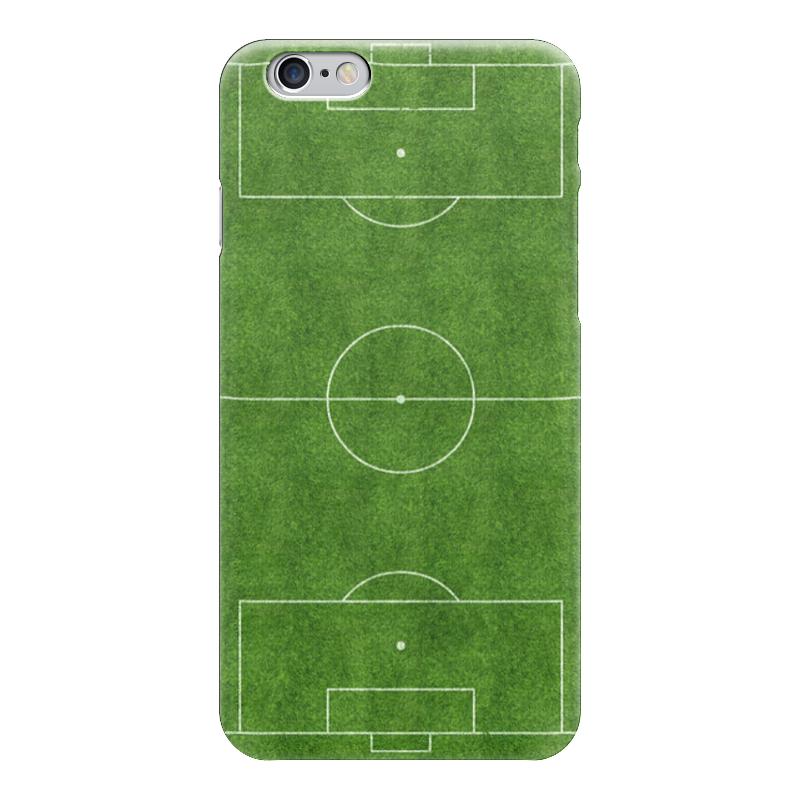 Чехол для iPhone 6 глянцевый Printio Футбольное поле чехлы для телефонов chocopony чехол для iphone 6plus футбольное поле арт 6plus 051