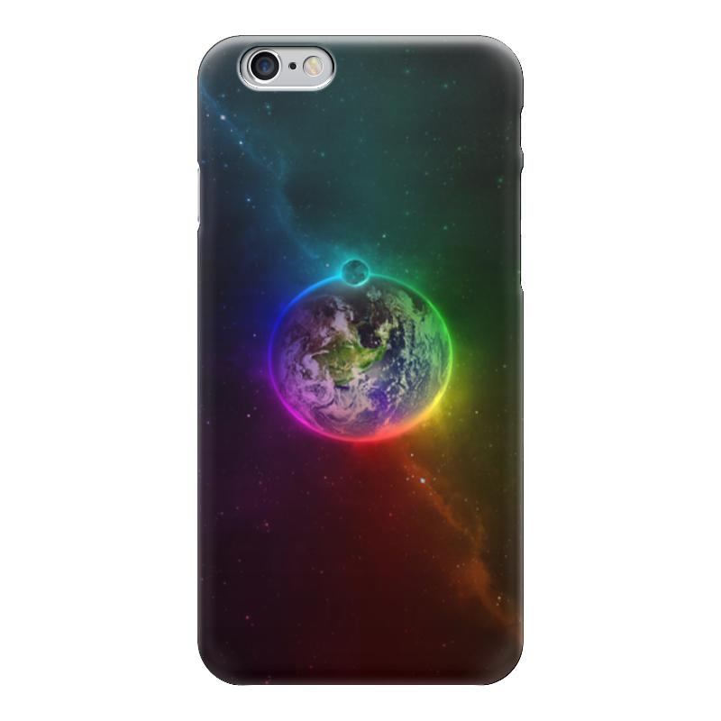 все цены на Чехол для iPhone 6 глянцевый Printio Космос онлайн