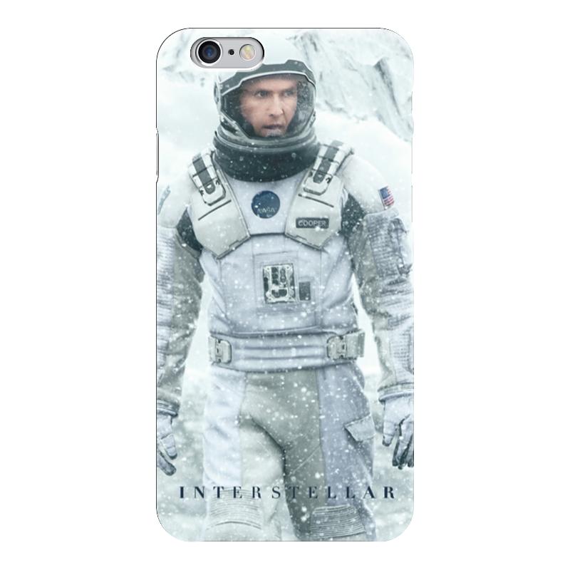 Чехол для iPhone 6 глянцевый Printio Interstellar чехол для iphone 6 глянцевый printio красавица и чудовище